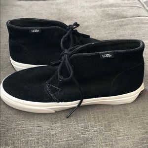 Vans Black Suede Booties